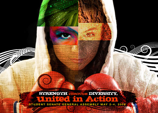 United in Action Poster